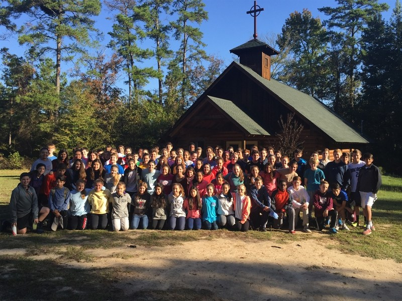 8th Graders enjoy their Pines experience