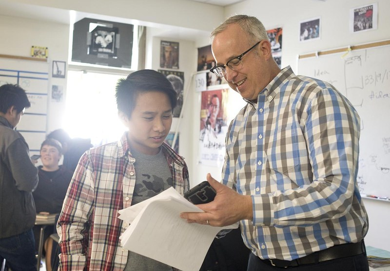 """Fountain Valley teacher takes innovation to new places"""