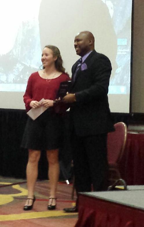 Senior Jordan Barnes at LHSW receives Hannah Moss & Kierstin Eaddy Scholarship