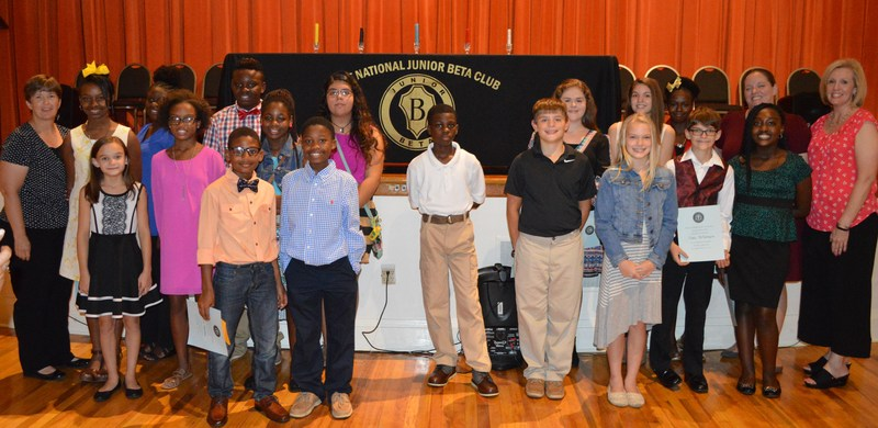 Martin Millennium Academy inducts Junior Beta Club Members Thumbnail Image