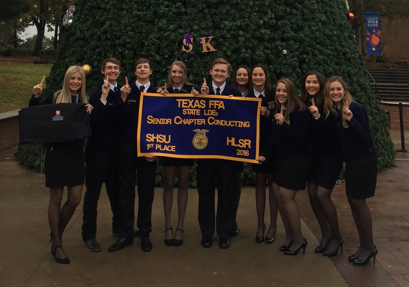 FFA Senior Chapter Conducting Team wins FIRST PLACE at STATE! Thumbnail Image
