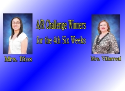 Congratulations to this Six Wks AR Challenge winners!!