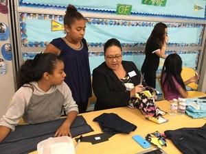 Johnson Students Help Sole Hope