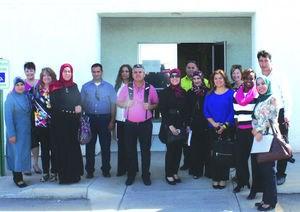 Educadores Palestinos Nos Visitan