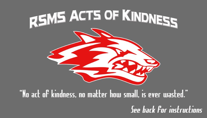 RSMS Acts of Kindness