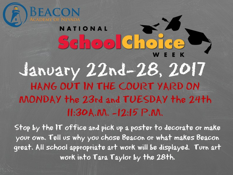 Beacon School Choice Week Flyer