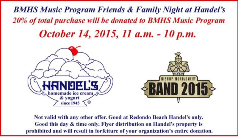 Support BMHS Music at Handel's