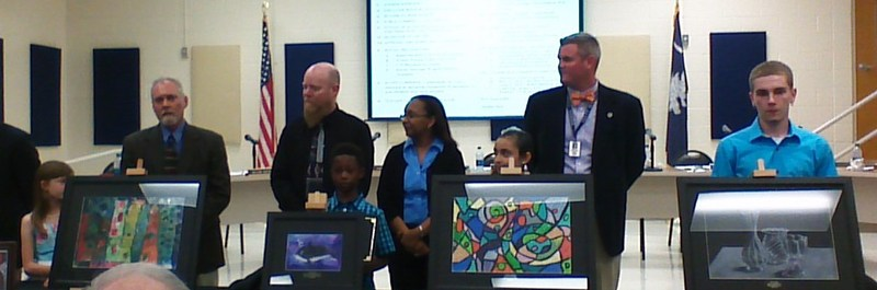 Superintendent art award winners named