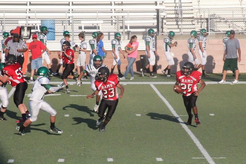 Freshman Rams Football Game Changed
