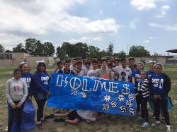 Congratulations to our Holmes Middle School Soccer Team