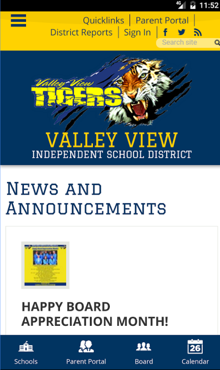 Valley View ISD mobile app is finally here!! Thumbnail Image