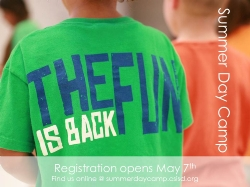 Register for Summer Day Camp!!