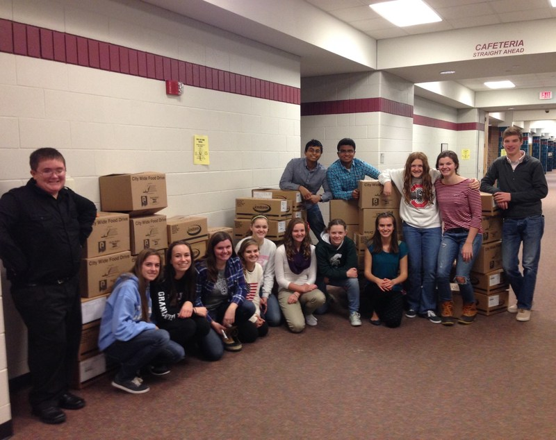 GHS Delivers Thousands of Items to Charities