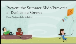 Prevent the Summer Slide Parent Workshop