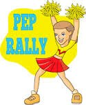 1st Pep Rally this coming Friday August 28th