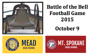 """Advanced Ticket Sales - October 9 """"Battle of the Bell"""" Football Game"""