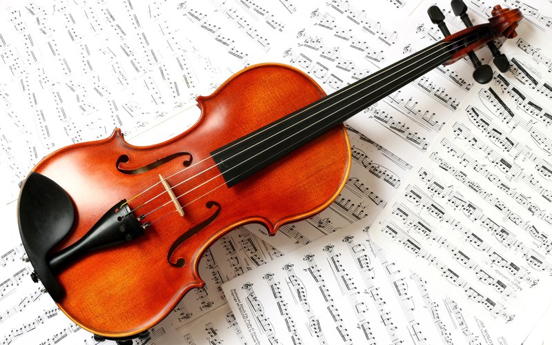 NWS Receives Violin from Horns for Kids Thumbnail Image