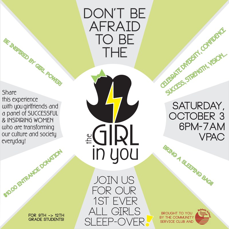 """Don't be afraid to be """"The Girl in You"""""""