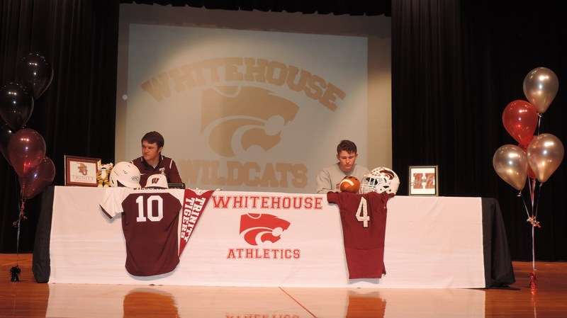Two WHS Athletes Participate in Signing Day