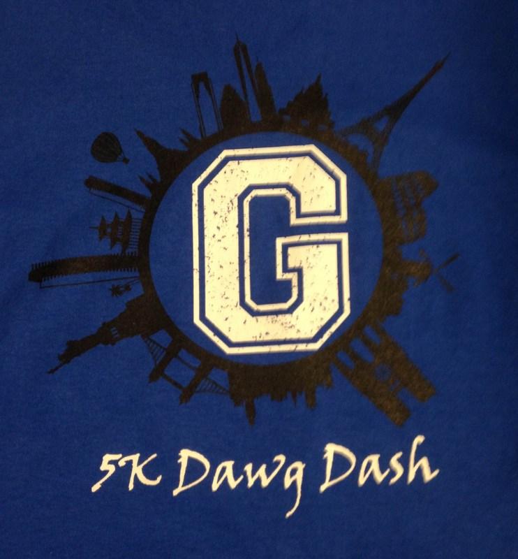 Dawg Dash Shirt Logo