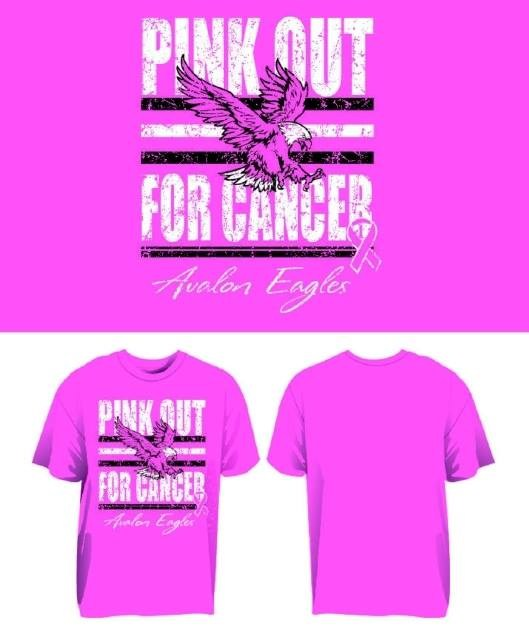 Pink Week Shirt Orders Due Friday, Oct 2!