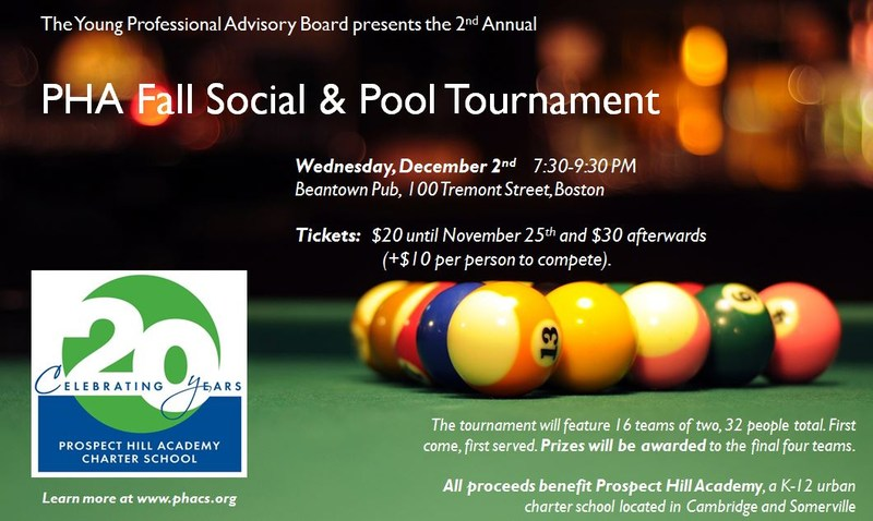 2nd Annual PHA Fall Social & Pool Tournament