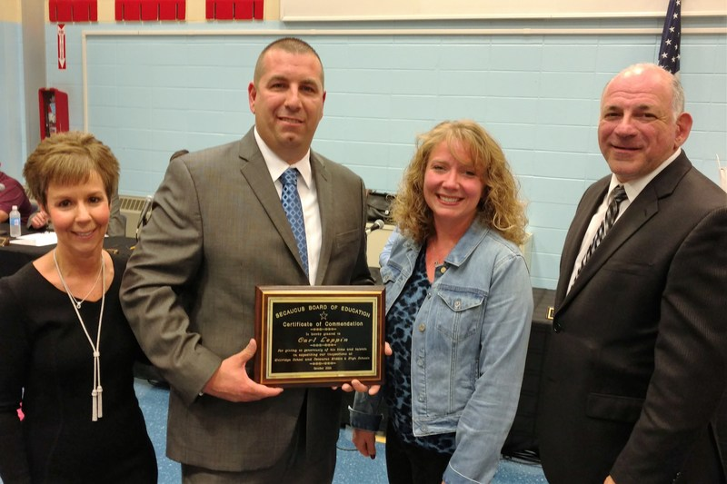 Carol Leppin, Secaucus Fire Subcode Official and Building Inspector, Honored at the Board of Education Showcase of Success This Past Thursday Thumbnail Image