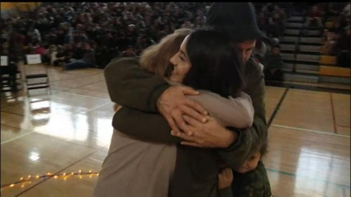 Del Mar High School's Winter Wish Event Brings Joy & Tears to Community