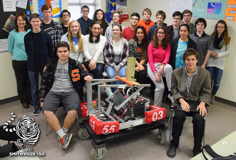 Robotics Team Receives Grant from NASA Thumbnail Image