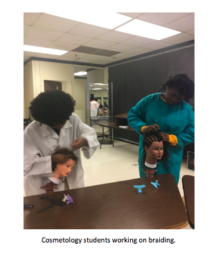 FCPS Cosmetology Class a Cut Above Thumbnail Image