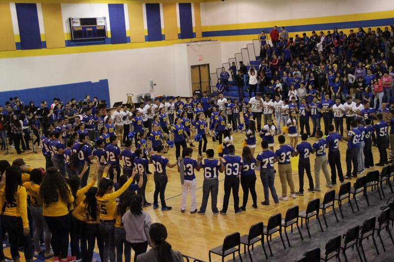 Our first Pep-rally this year!!!