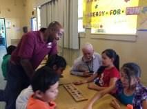 SDUSD Trustee Dr. Michael McQuary visits Tubman!