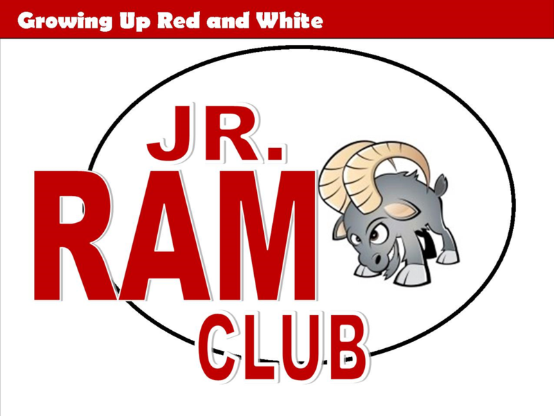 We want YOU to become a member of the Jr. Ram Club today!