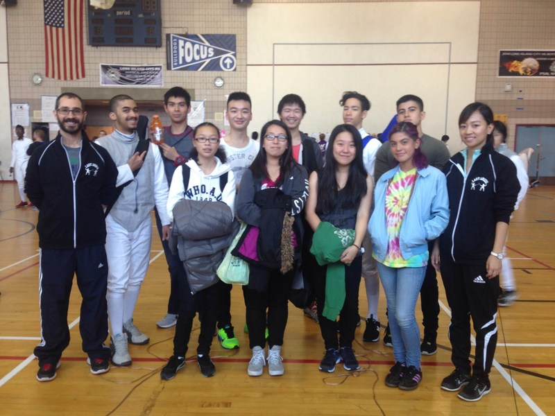 MHS Fencing at PSAL Season Opener