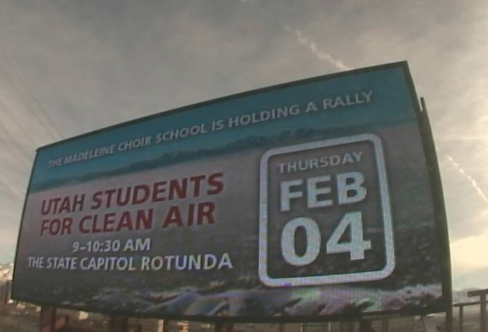 Choir School Students to Rally for Clean Air at the State Capitol, Again
