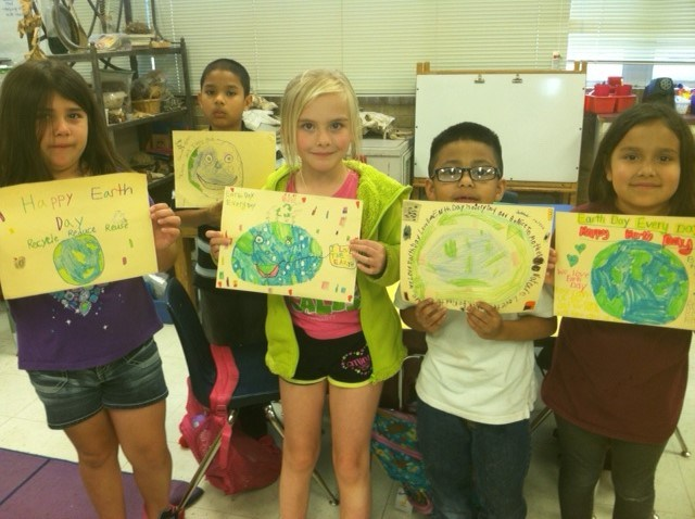 Earth Day, Informing and Persuading, & Reading Buddies!