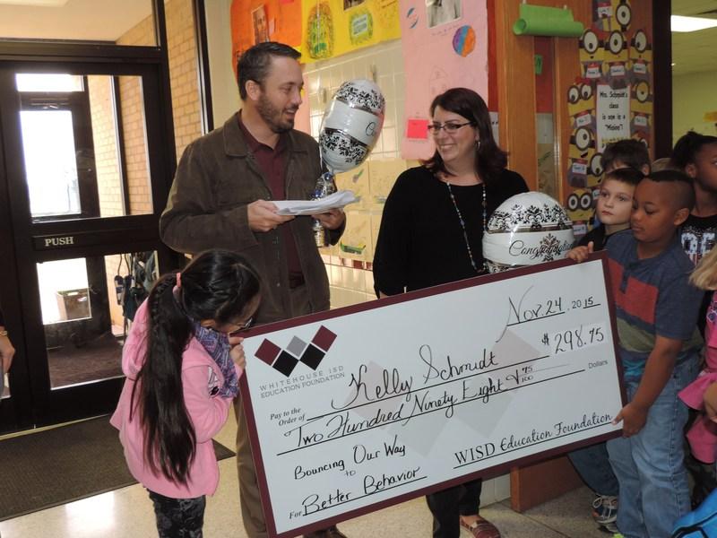 Whitehouse ISD Education Foundation Awards Teacher Grants