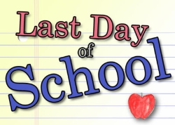 May 29: Last Day of School, Early Release