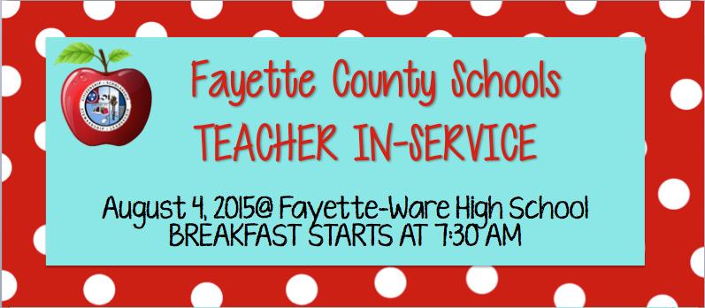 Fayette County Schools In-Service