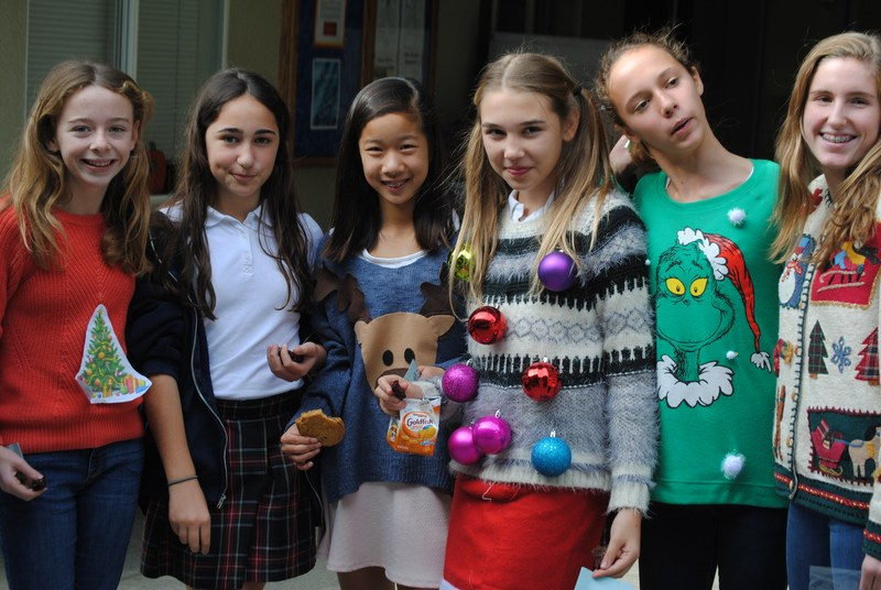 Silly Sweater Day Dec. 9