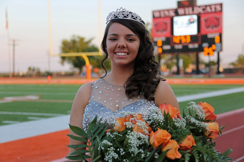 Congratulations to Mariza Crawford, our 2015 Homecoming Queen