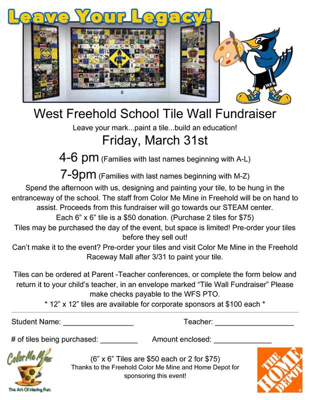 Tile Wall Fundraiser! Thumbnail Image