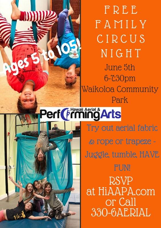 Free Family Circus Night!