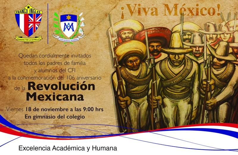 106 Aniversario de la Revolución Mexicana Thumbnail Image
