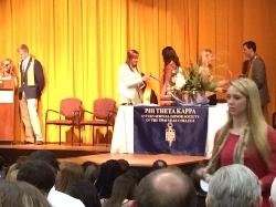 HFS 2014 Graduates Inducted into Phi Theta Kappa Honor Society