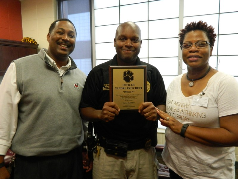 Pinevale Celebrates School Resource Officer