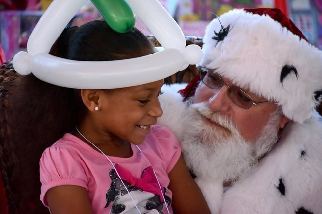 Waterside Shops Shares a Little Holiday Cheer with Less Privileged Children