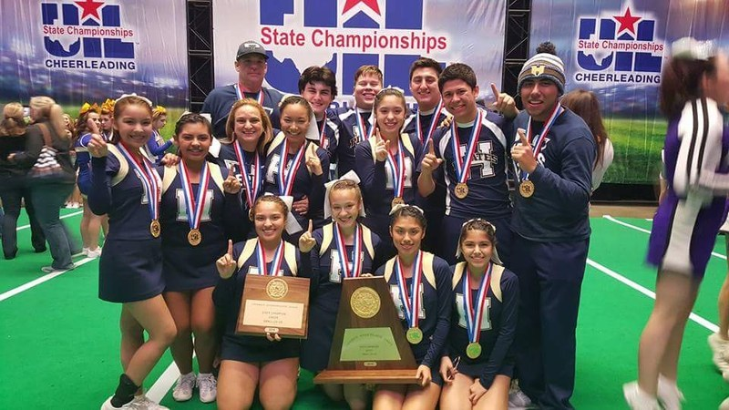 HECHS Co-Ed Cheer Team Wins UIL Spirit State Championship!