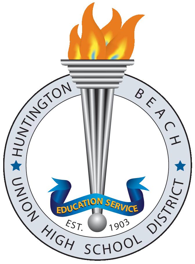 Huntington Beach Union High School District Logo.