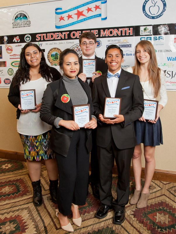 Student of the Year Scholarship Winners